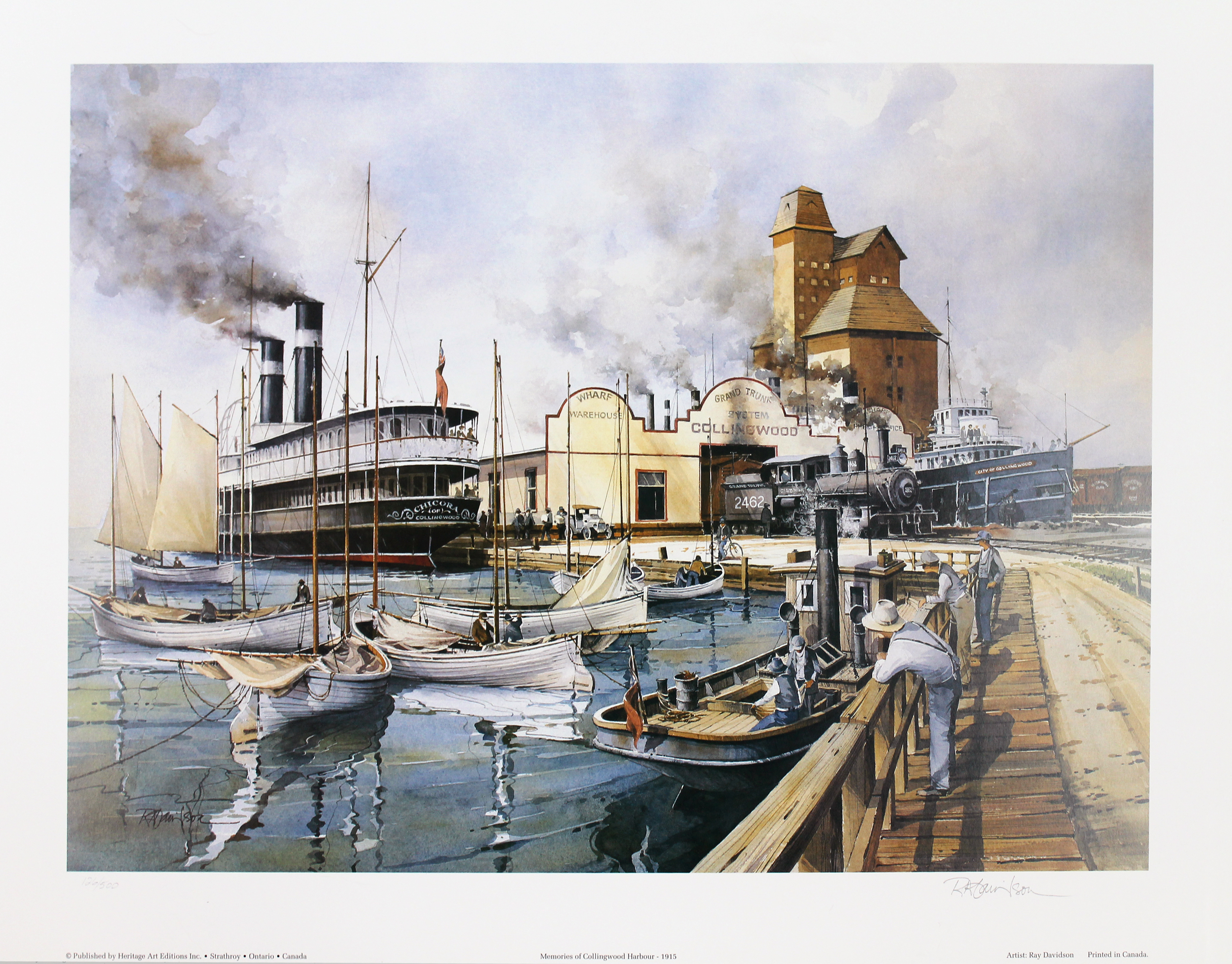 Memories of Collingwood Harbour - GFG Collection